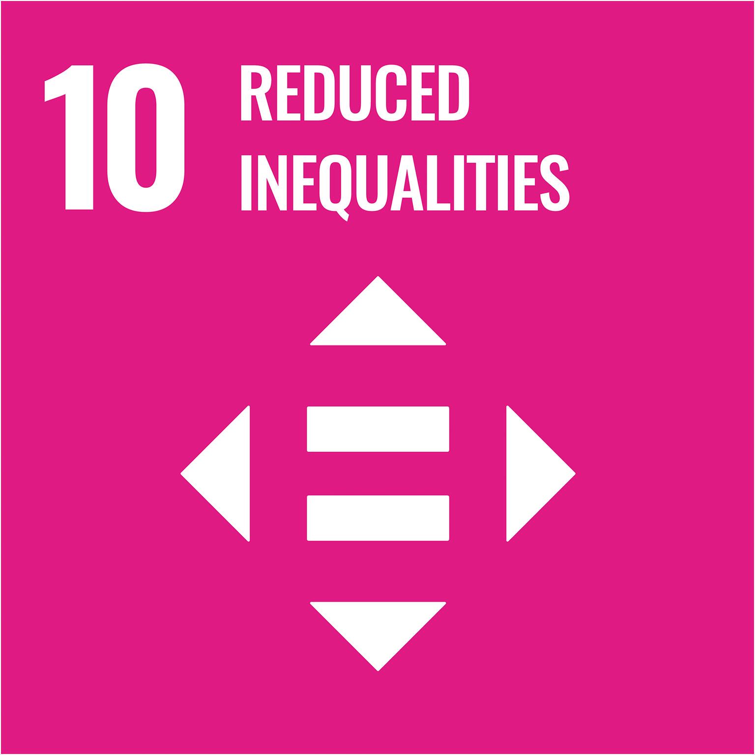 sustainable development goals: reduced inequalities